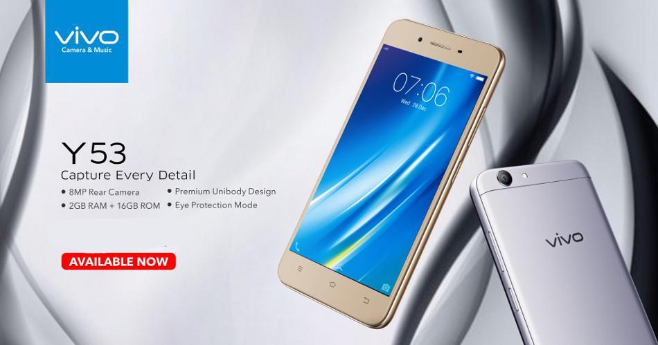 Vivo Y53 gets a price cut of Rs 1,000