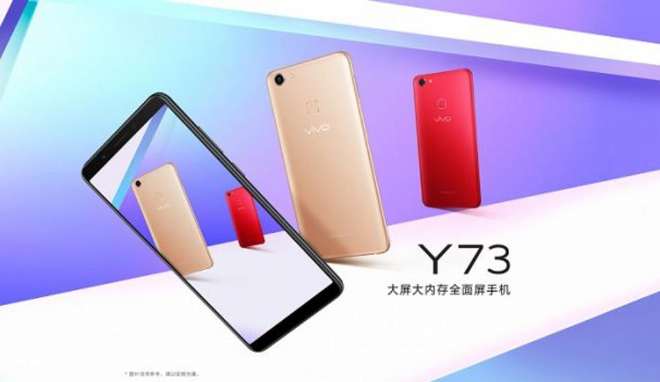 Vivo Y73 confirmed to launch in India on June 10