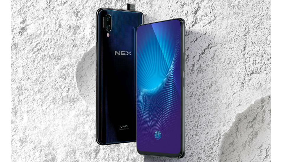 Vivo NEX with truly bezel-less display, pop-up camera and in-screen fingerprint launched