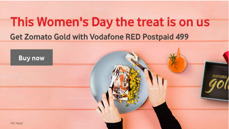 Vodafone offers Zomato Gold subscription to its select postpaid users