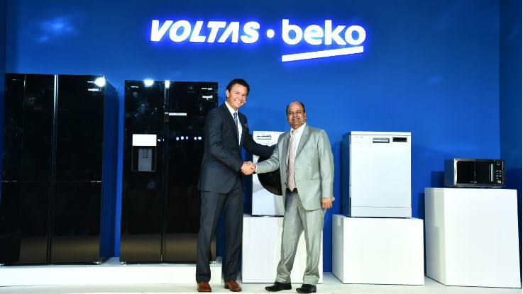 Voltas Beko marks its Indian debut with a range of home appliances in India