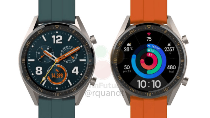 Huawei Watch GT Active, Watch GT Elegant tipped to launch along with P30 series