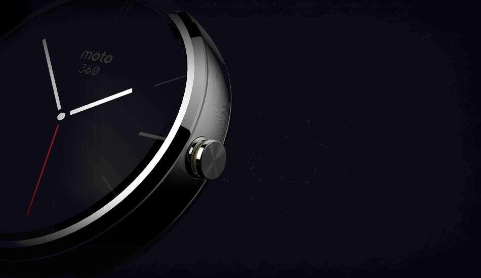 Motorola Moto 360 smartwatch in pictures