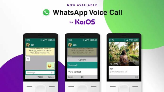WhatsApp voice calls is now available on Reliance JioPhone and other KaiOS feature phones