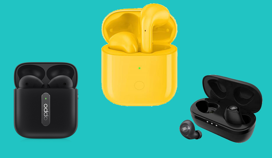 Xiaomi truly wireless earbuds compared with TWS from Realme, Oppo , JBL and others