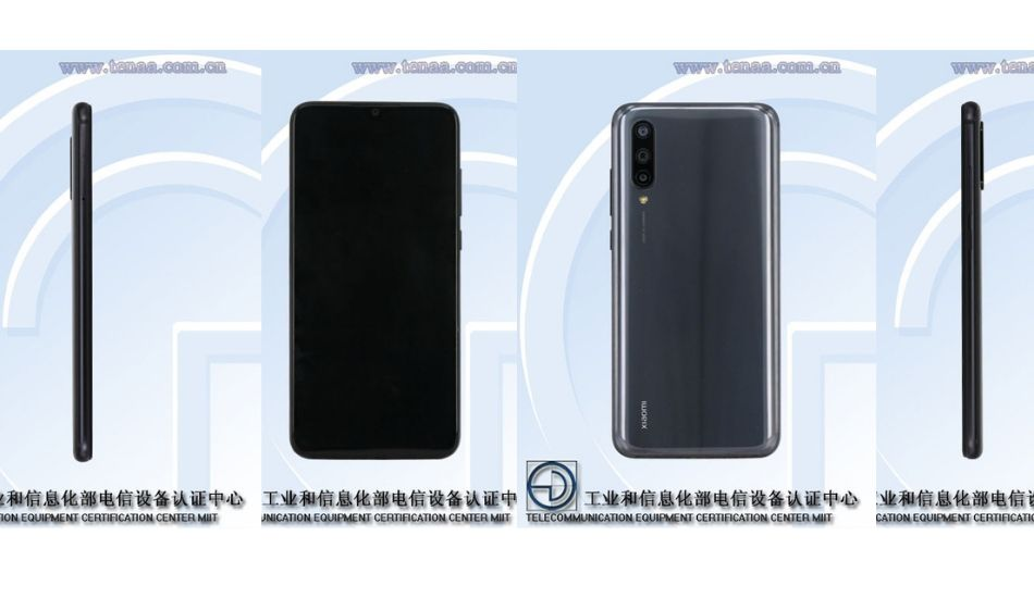 Xiaomi M1904F3BC images spotted on TENAA, could be Xiaomi Mi CC9