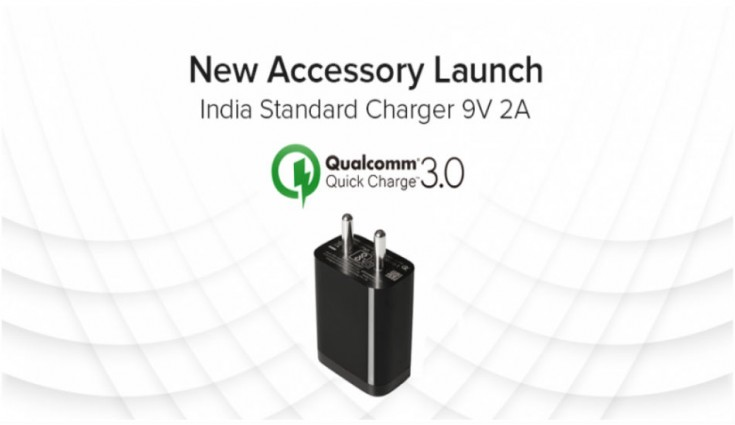 Xiaomi launches Qualcomm certified Quick Charge 3.0 Charger in India for Rs 449