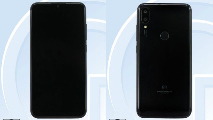 Xiaomi smartphone with waterdrop notch spotted on TENAA