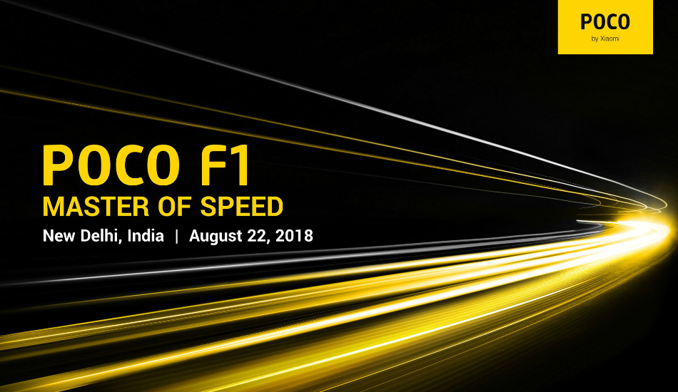 Xiaomi Poco F1 with Snapdragon 845 to launch on August 22