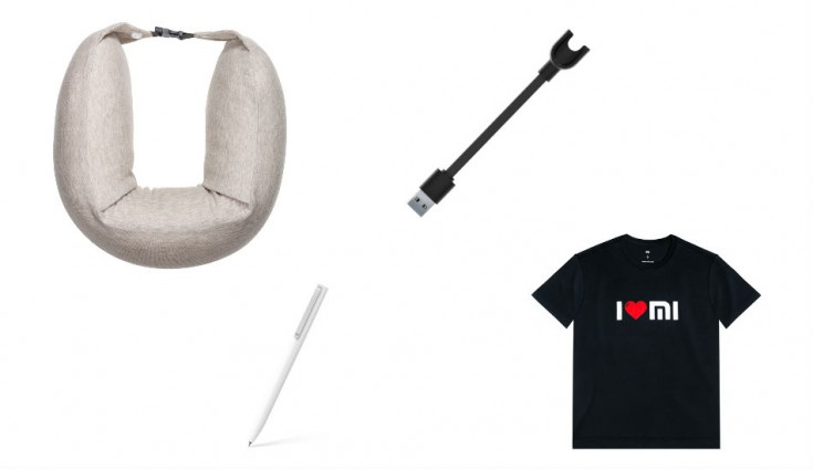 Xiaomi Mi Rollerball Pen, Travel U-shaped Pillow, I Love Mi T-shirt and Mi Band Charger launched, price starts Rs 129