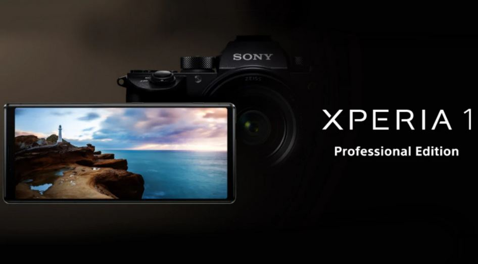 Sony Xperia 1 Professional Edition launched in Japan