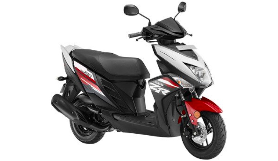 2018 Yamaha Cygnus Ray ZR scooter introduced in India at Rs 53,451