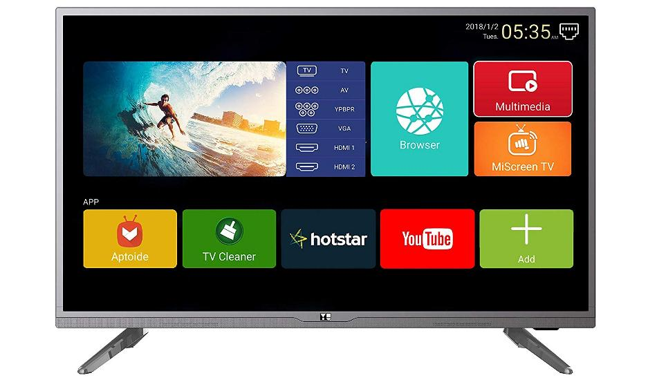 Micromax first YU-branded Yuphoria Smart LED TV launched for Rs 18,499