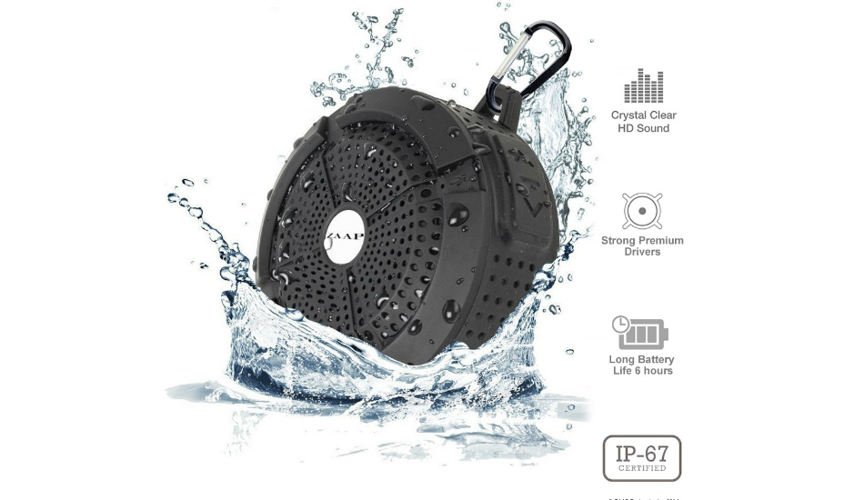 ZAAP launches AQUA Bluetooth Speakers with IP67 water resistance, priced at Rs 1,699