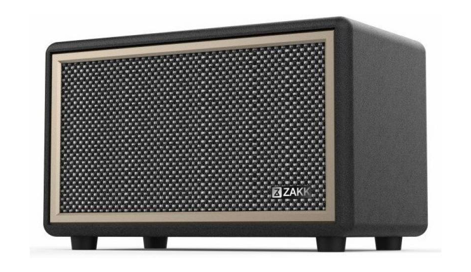 Zakk Woodstock Wireless Bluetooth Speakers launched in India for Rs 4,999