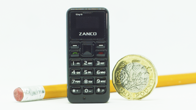 Meet Zanco Tiny T1 - The smallest phone in the world