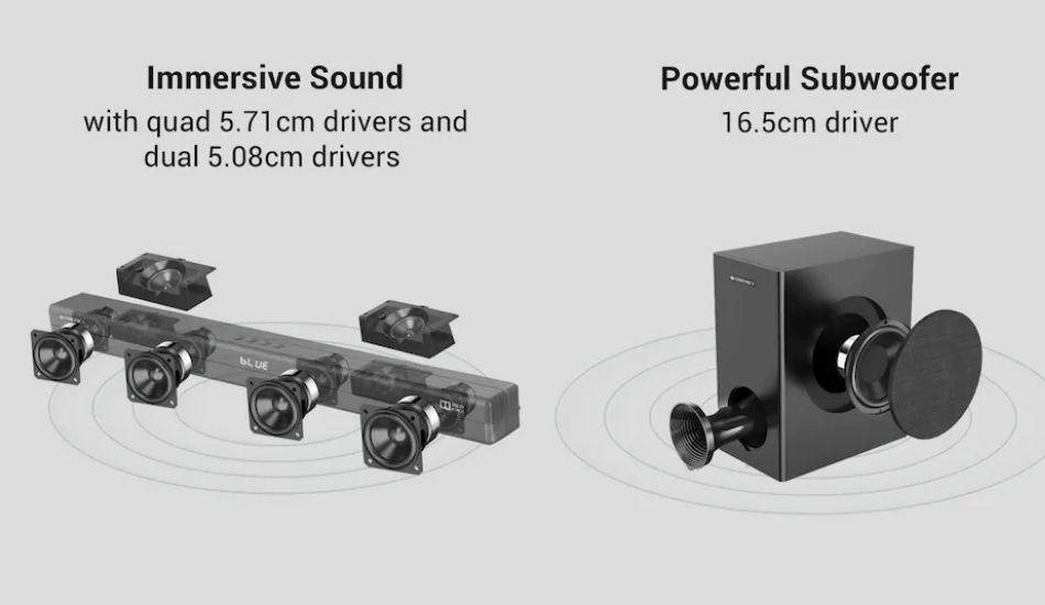 Zebronics ZEB-Juke Bar 9700 Pro Dolby Atmos Soundbar  Launched