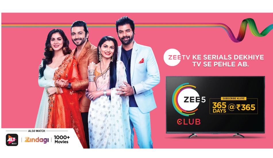 ZEE5 launches ZEE5 Club at Rs 365 per year