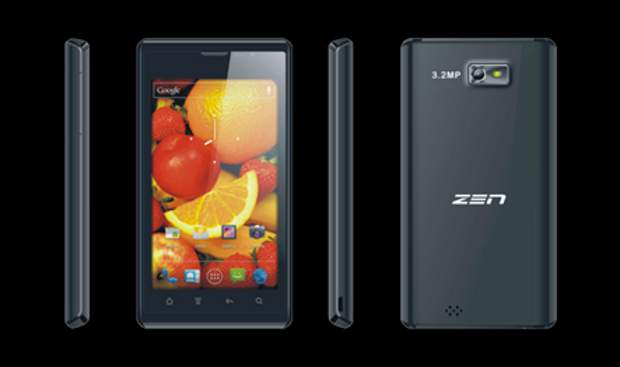 Zen Admire Sense 4G VoLTE smartphone with fingerprint sensor launched at Rs 5,999