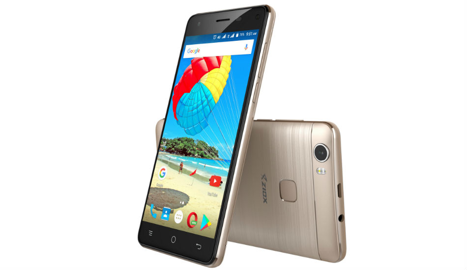 Ziox Mobiles launches Quiq Aura 4G smartphone in India for Rs 5,199