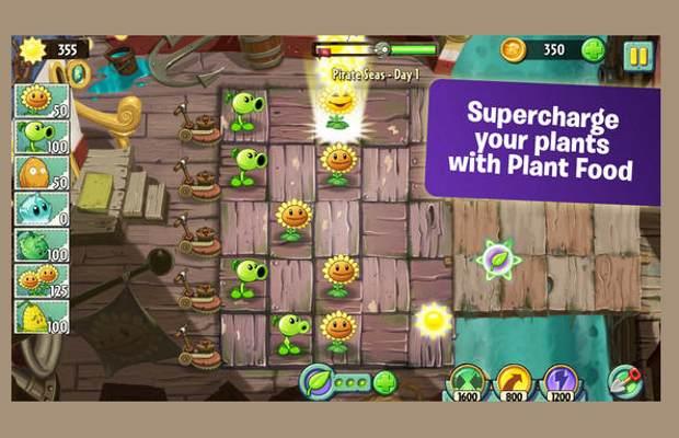Plants vs Zombies 2 now free on Apple app store