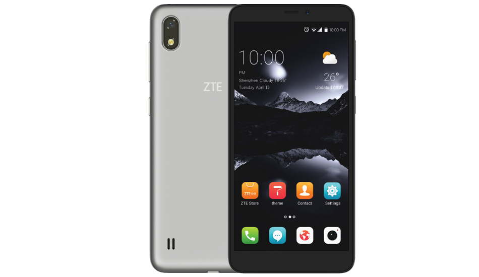 ZTE A530 launched with 18:9 display and Android Oreo