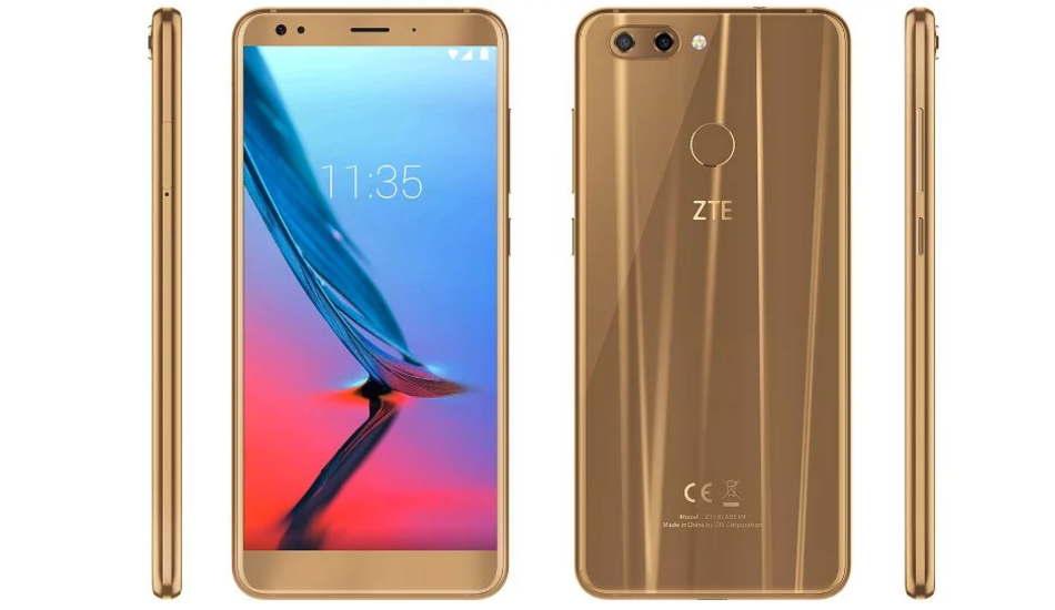 MWC 2018: ZTE Blade V9, V9 Vita and Temp Go smartphones announced