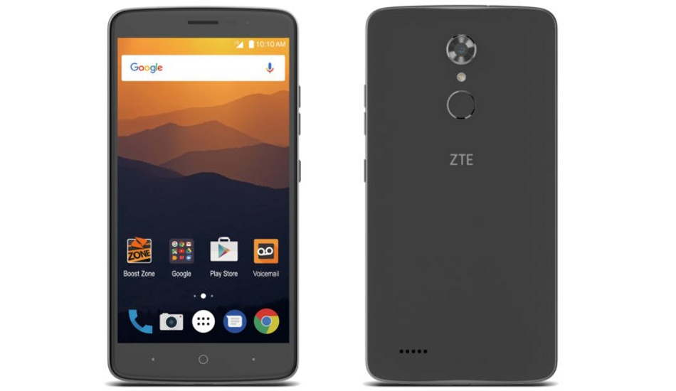 ZTE Max XL announced with 6 inch display and Android Nougat
