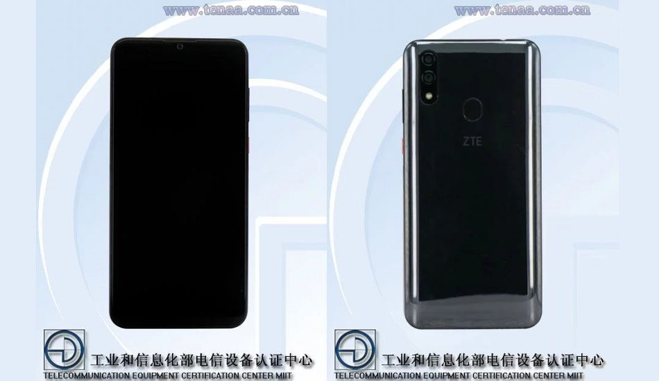 Alleged ZTE Blade V10 gets certified with 6.3-inch FHD+ display and Android 9 Pie