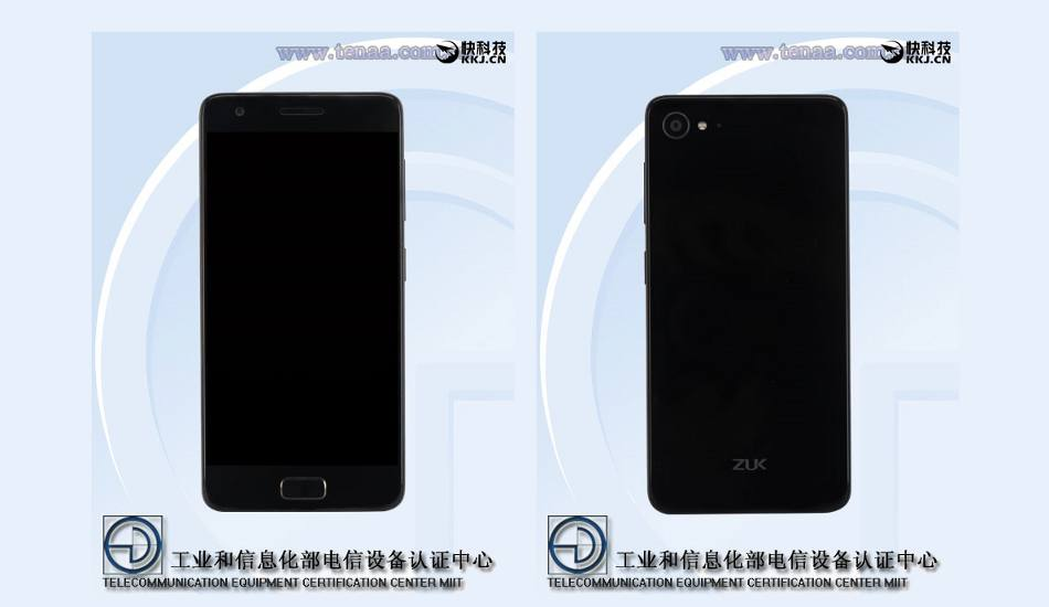 Zuk Z2 with 8MP front camera & Snapdragon 820 SoC spotted