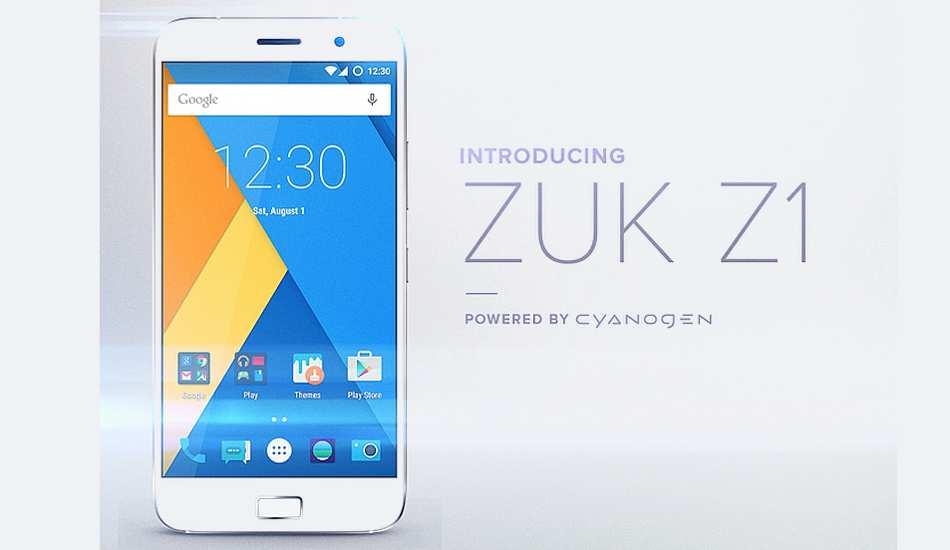 Lenovo Zuk Z1 with Cyanogen OS 12.1 coming in October