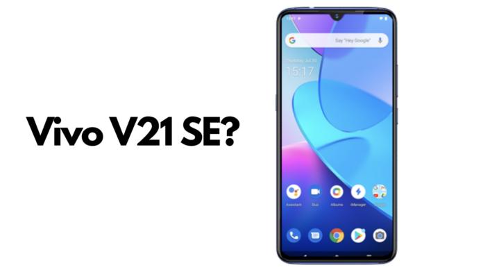 Vivo V21 SE Specifications
