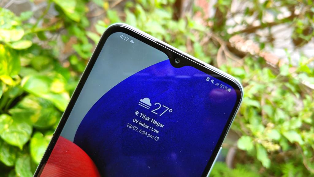 Samsung Galaxy A22 5G front