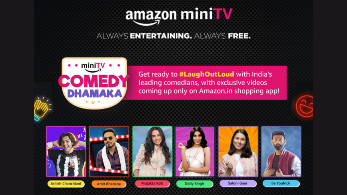 Amazon MiniTV comedy lineup