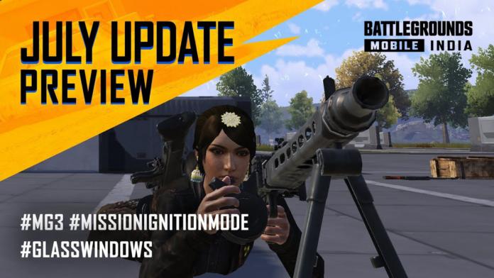 Battlegrounds Mobile India July Update