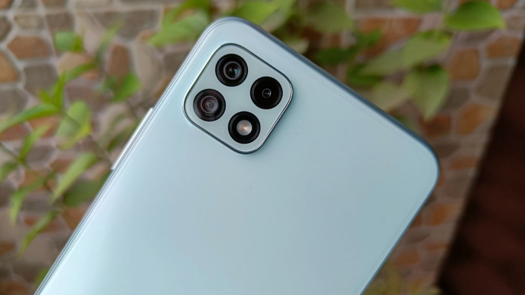 Samsung Galaxy A22 5G cameras