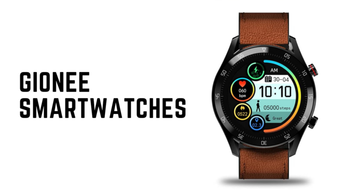 Gionee Smartwatches India