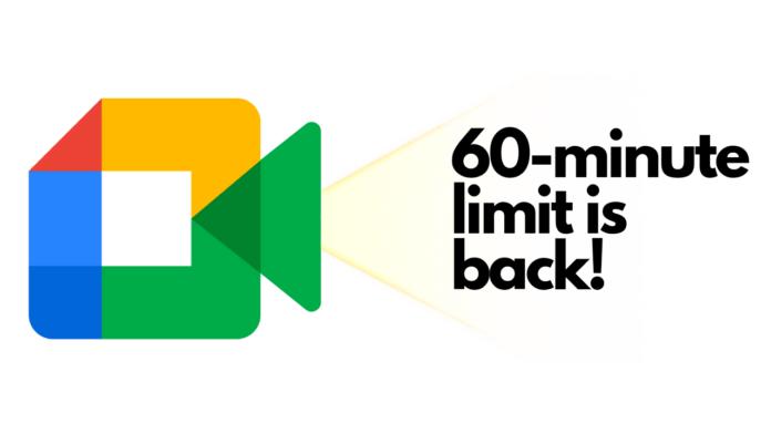 Google Meet 60-Minute limit