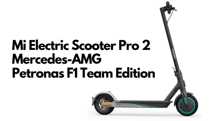 Mi Electric Scooter Pro 2 Mercedes Edition