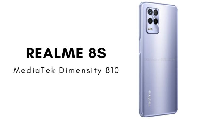 Realme 8s design