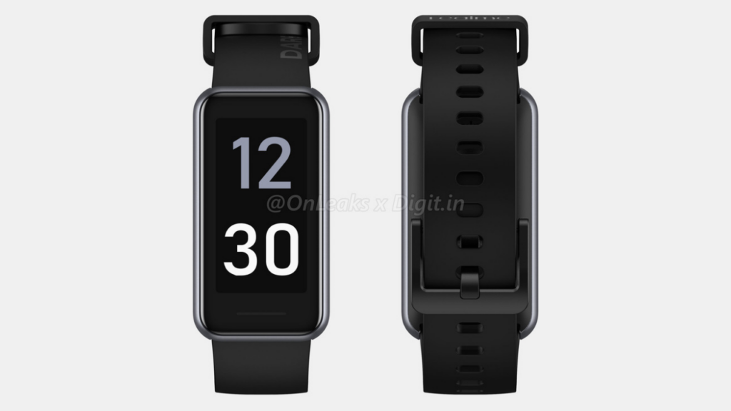 Realme Band 2 renders