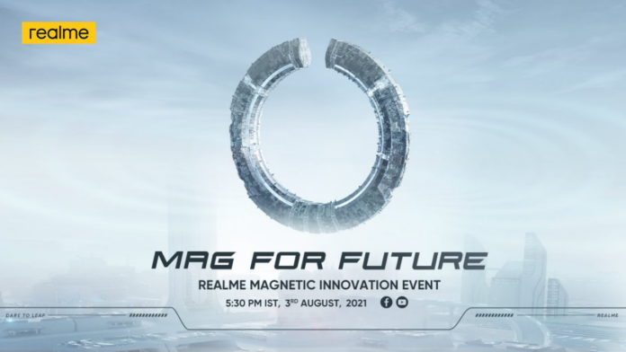 Realme MagDart Magnetic Wireless Charger launch event