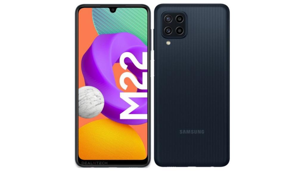 Samsung Galaxy M22 render