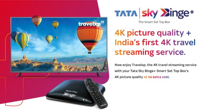Tata Sky 4K HDR streaming