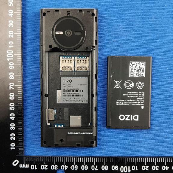 Dizo phone FCC