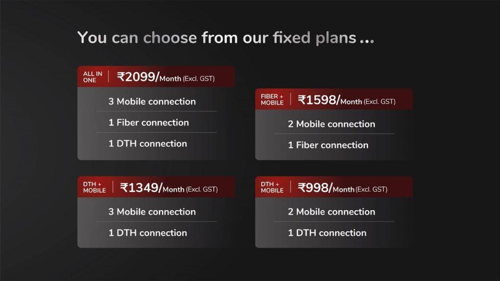 Airtel Black fixed plans