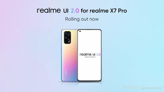 Realme X7 Pro update