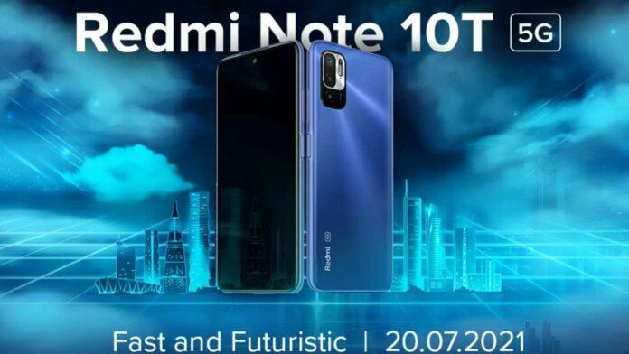Redmi Note 10T price leak