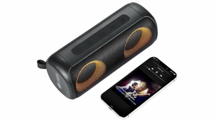 ZOOOK Color Blast Bluetooth Speaker
