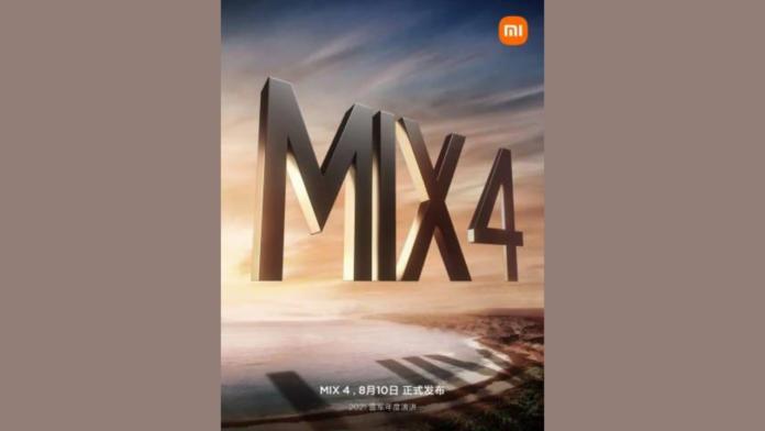 Mi MIX 4 launch